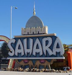 Old Las Vegas Casino Signs | Neon Museum or Neon Boneyard in Las Vegas Nevada