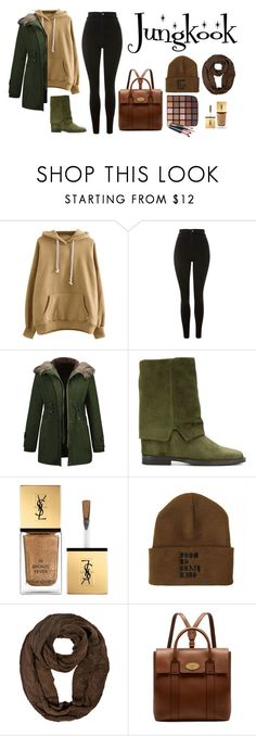 """""""New Year Jungkook"""" by dark-lee on Polyvore featuring мода, Topshop, Via Roma XV, Yves Saint Laurent и Mulberry"""