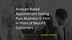 ABM efforts can be hard to scale. This B2B IT company managed to overcome this challenge, thanks to Callbox's account-based appointment setting strategy.