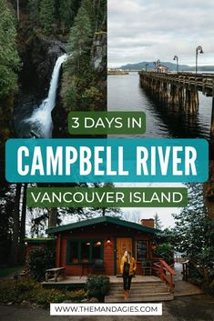 Traveling to Vancouver Island? There are so many things to do in Campbell River! We're sharing the best Campbell River Itinerary, perfect for 3 days. Canada Destinations, Vacation Destinations, Canadian Travel, Canadian Rockies, British Columbia, Columbia Travel, Island Tour, Desert Island, Vancouver Island