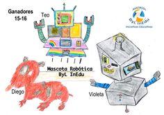 Ganador Concurso Mascota Robótica 2015