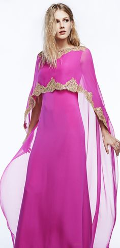 Tokkar. In my mind it's somewhere between toga (peplos), sari and western dress in shape, and Moroccan style detail.