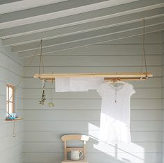 deVol Kitchens laundry rack via the Paper Mulberry
