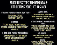 Bruce Lee words of wisdom