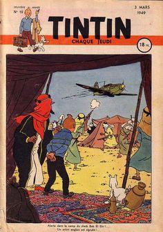 Alerte dans le camp du sheik Bab El Ehr !... Un avion anglais est signalé !...