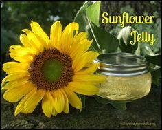 Homemade Sunflower Jelly