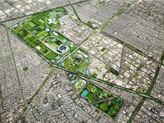 Taller 13 Arquitectura proposes an exciting new urban regeneration plan for Mexico's Ciudad Deportiva Runoff Water, Eco Architecture, México City, Urban Planning, Plan Design, Urban Landscape, Green Building, Sustainable Design, City Photo