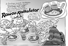 Kartun Benny, Tiga Manula: Rawon Kalkulator