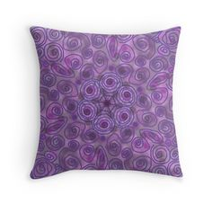 Purple swirls  by andersonartist