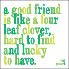 - irish proverb