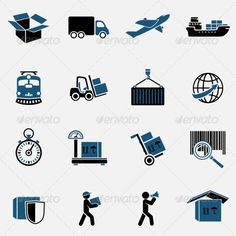 Logistic Icons Set | Buy and Download: http://graphicriver.net/item/logistic-icons-set/6958498?WT.ac=category_thumb&WT.z_author=macrovector&ref=ksioks