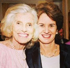 Eunice Kennedy Shriver and her niece, Kathleen Kennedy Townsend
