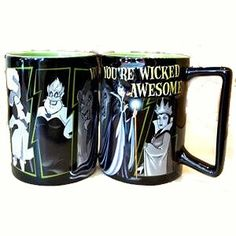 Disney Villains Coffee Cup Mug You're Wicked Awesome... review at Kaboodle