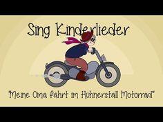 Meine Oma fährt im Hühnerstall Motorrad - Kinderlieder zum Mitsingen | Sing Kinderlieder - YouTube