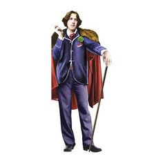 Oscar Wilde Shaped Card