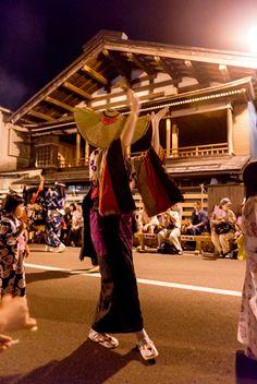 西馬音内盆踊り Nishimonai bon-odori Japan