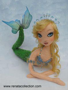 handmade-cloth-doll mermaid-doll mermaid-cloth-doll renata-doll