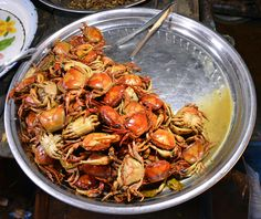 Delicious crabs! Venture into the countryside and get a taste of the local cuisine on our Countryside Life Tour in Siem Reap, Cambodia.