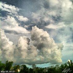 雨上がり #空 #雲 #フィリピン #sky #cloud #philippines