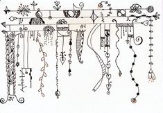 Another Zenspirations Dangle Design from Valencis Tangle 193