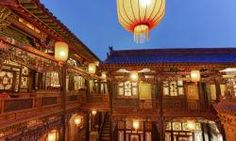 Traditional-Chinese-courtyard-Pingyao-China