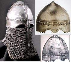 """Reconstruction of the helmet of the 14th century.Research group """"Хранители"""""""
