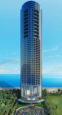 Porsche Tower in Sunny Isles Beach Fl  Impressive design  With an elevator going up to your private home, in your car. at least two parking spaces, while the larger units have 4 parking spaces. http://www.af-realty.com/building/porsche-design-residences