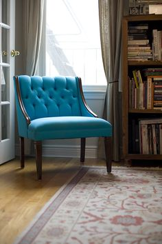 blue chair