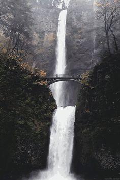 Les chutes de Multnomah.Oregon (US)