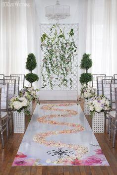 Wedding Ceremony Setup, Aisle, Backdrop   ROMANTIC POETIC WEDDING INSPIRATION   Elegant Wedding