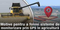 Motive pentru a folosi sistemele de monitorizare prin GPS în agricultură