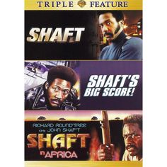 Shaft/Shaft's Big Score/Shaft in Africa [2 Discs]