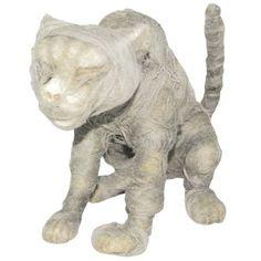 mummy cat - halloween
