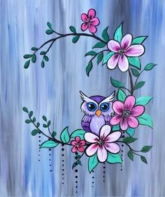 Join us for a Paint Nite event Thu May 2018 at 1800 Victoria Avenue East Reg. - Join us for a Paint Nite event Thu May 2018 at 1800 Victoria Avenue East Regina, SK. Easy Canvas Painting, Simple Acrylic Paintings, Diy Canvas, Fabric Painting, Diy Painting, Painting & Drawing, Canvas Art, Owl Paintings, Fabric Paint Shirt