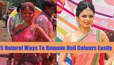 Holi 2018 : 5 Natural Ways To Remove Holi Colours Easily