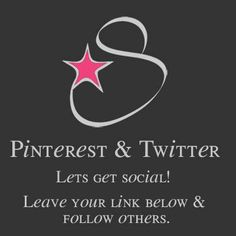 ☆::★::☆ TWITTER & PINTEREST SOCIAL LADDER ☆::★::☆  LETS GET SOCIAL, AND GAIN SOME FOLLOWERS! JUST LEAVE YOUR TWITTER & PINTEREST PAGE(S) BELOW & FOLLOW OTHERS!