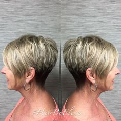 Pixie Bob with Soft Blonde Highlights Haircuts For Fine Hair, Short Pixie Haircuts, Hairstyles Over 50, Pixie Hairstyles, Pixie Bob, Cropped Hairstyles, Latest Haircuts, Hairstyles 2016, Medium Hairstyles