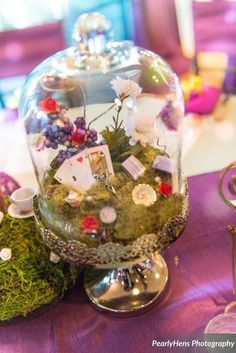 A DIY Alice In Wonderland Inspired wedding http://diamondbridalgallery.com/qiava-and-jonathan-san-francisco-chic-engagement-session.htm