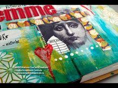 One Take Friday: journal d'artiste * art journaling - YouTube