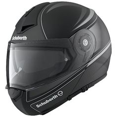 Schuberth C3 Pro Dark Classic Helmet at RevZilla.com