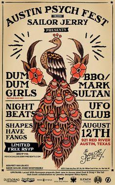 Austin Psych Fest & Sailor Jerry Present: Dum Dum Girls (Guitar Duo)
