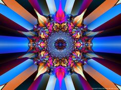 Amazing Seattle Fractals - 2006 Fractal Art Gallery I