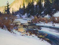 Morning Glory by Jill Carver Oil ~ 12 x 16