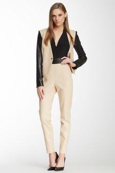 Robert Rodriguez Leather Waist Zip Pant by Assorted on @HauteLook