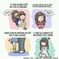 i love you Cute Couple Comics, Couples Comics, Anime Couples, Cute Couples, I Love Girls, I Love You, My Love, Love Messages, Funny Love