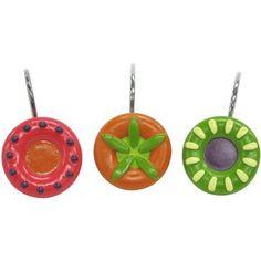 Festiva Shower Hook, Multicolor