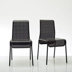 Chaise design métal perforé Antoine Phelouzat Bensimon prix promo La Redoute 169.98 € TTC au lieu de 199.98 €