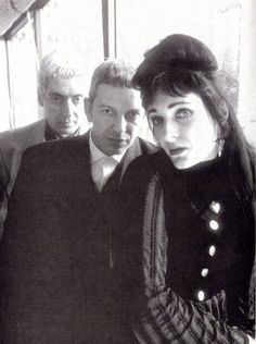"theministryofsoul: ""Budgie, Steve Severin, Siouxsie. """