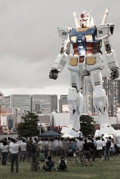 Life size Gundam!