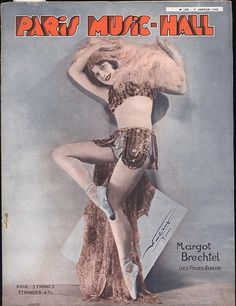 Paris Music Hall #252 - 1 January 1932 by -=- G2 -=-, via Flickr